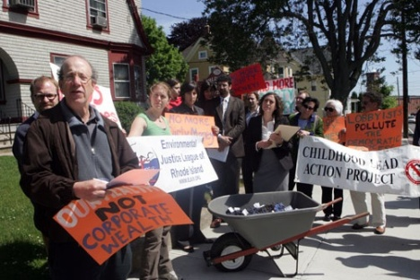 EJ League spurs action on polluter fines bill.