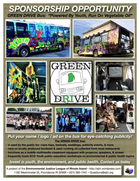 Green D(RI)VE: Powered By Youth, Running on Veggie Oil
