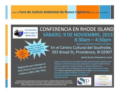Final Flyer for Nov Event Spanish